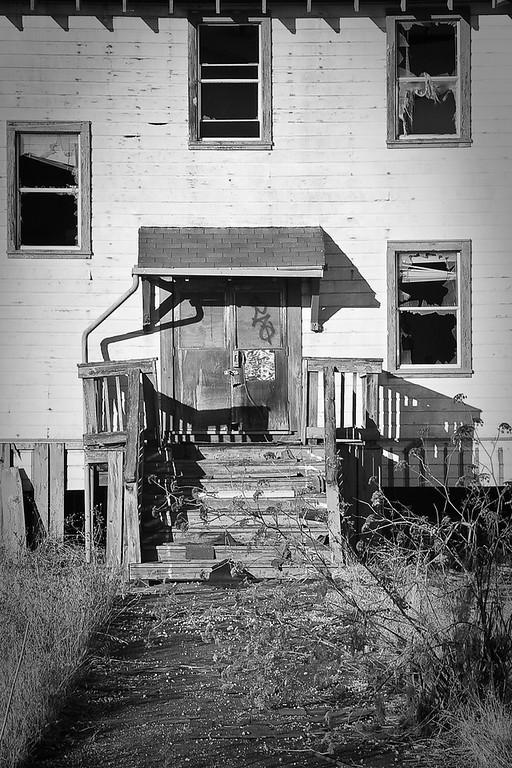 Abandoned barracks