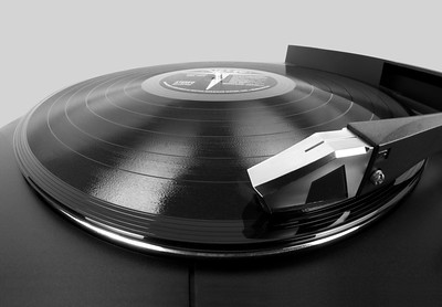 Vinyl LP and Turntable