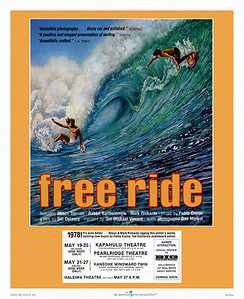 435: 'Free Ride' Movie posting from 1978.