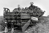The mangled waggons of the train that crashed outside Arklow.  Circa  1979