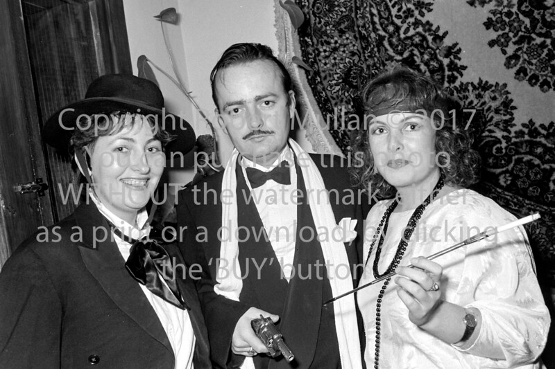 Carmel Power, Patrick Power and Theresa Power in Arklow.  Circa 1986