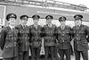 Peter Byrne, Jim O'Neill, Dick Tyrell, John Connolly, John Murphy and Larry Doyle.