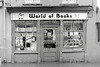 Arklow bookshop, 'The World of Books', on Main St, Arklow.  Circa 1980