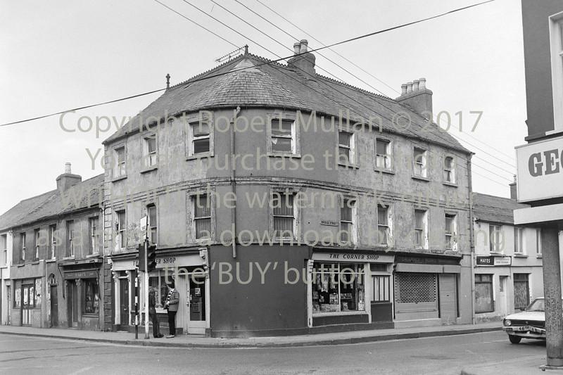 Arklow landmark 'Curran's Corner' Circa 1980