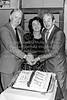 Tom and Carmel Honan with John B Keane celebrating the 21st anniversary of Arklow Parish Drama Group.  Circa 1980