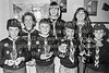 Scouts from Arklow.  Circa 1986