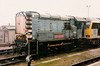 09012 Dick Hardy at rest stabled alongside Didcot station on 16 March 1996.