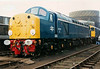 A smart looking whistler in the form of 40013 at the South Yorkshire Railway on 27 April 1996.