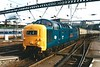 55019 ROYAL HIGHLAND FUSILIER is seen on home ground at King's Cross on 22 May 1999.
