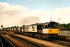 Pioneer 58001 trundles through Oxford on 7 September 1990 heading for the ever hungry Didcot Power Station with coal from the Midlands.