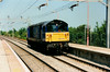Mainline blue 58008 trundles light approaching Wolverton on 4 June 1997.