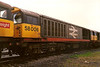 58006 takes a break at Toton on 30 May 1988.