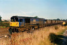 58014 Didcot Power Station heads MGR's past Milford Junction on 10 October 1996.