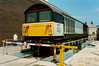 58011 Worksop Depot looking the part at Doncaster Works open day on 10 July 1994.