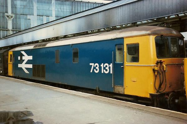 Retrospective - Class 73 ED's