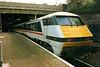 91003 THE SCOTSMAN is appropriately seen at Edinburgh Waverley on 2 September 1993.