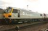 92039 Johann Strauss on display at Crewe Railfair on 28 August 1996.