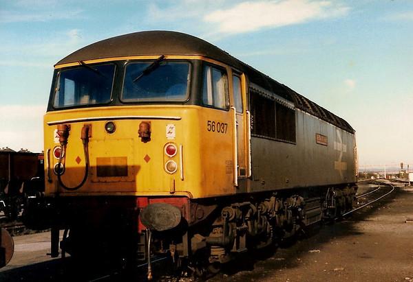 Retrospective - Class 56 Gridlocked !