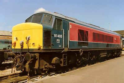 97403 Ixion stands in the sun on display at Bedford River Festival on 28 May 1988.