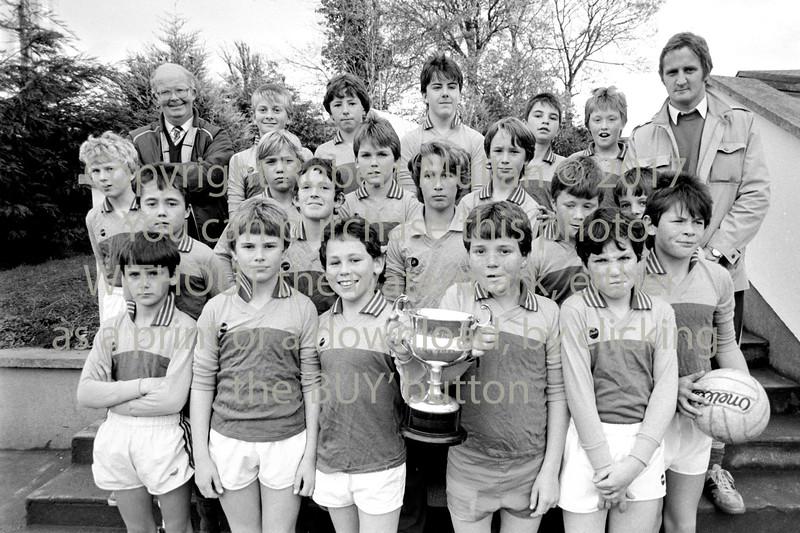 Wicklow Schoolboys team - date unknown