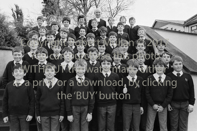 School group from Wicklow - 1980s/90s