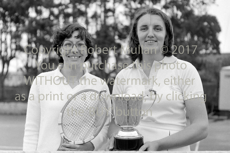 At Wicklow Tennis Club.  Circa 1980s