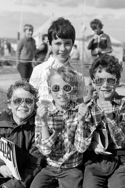 At Wicklow Regatta.  Circa 1979