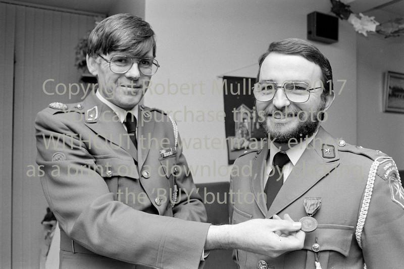 Macartan Hughes at an Order Of Malta presentation.  Year unknown