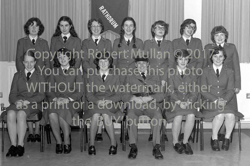 Group at Wicklow.  Circa 1980