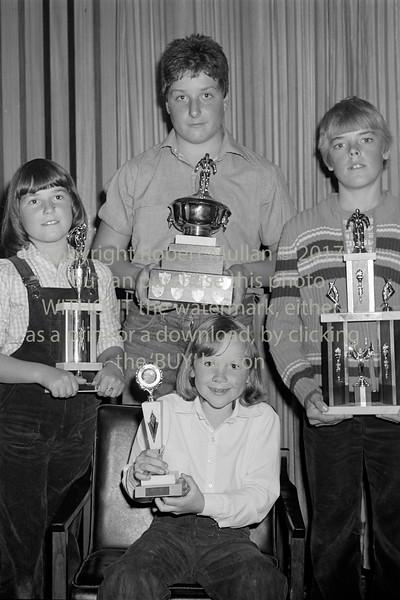 Wicklow Swimming Club winners.  Circa 1980s