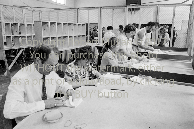 Counting the votes in Wicklow - 1980s/90s
