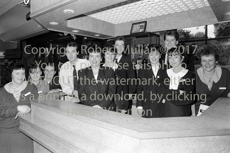 Staff of Quinnsworth (Tesco) - 1980s/90s