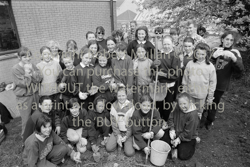 Taking part in a 'clean up' in Wicklow - 1980s/90s