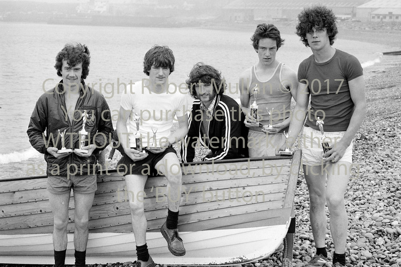 Wicklow rowers. Circa 1980