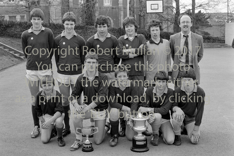 Winning schools team, Wicklow - 1980s/90s