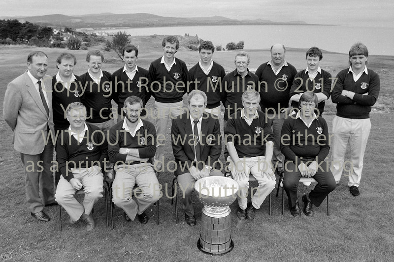 Team at Wicklow Golf Club - date unknown