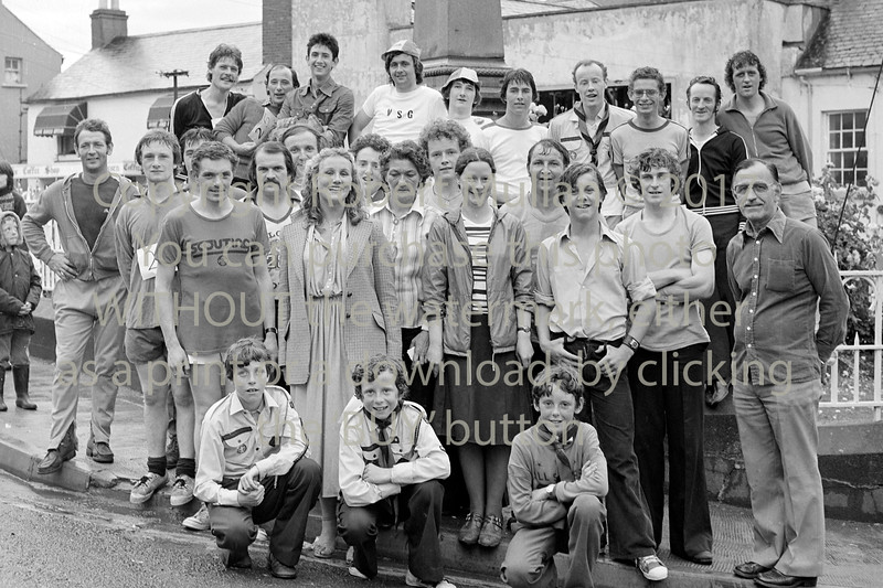 Group at Wicklow.  Circa 1980