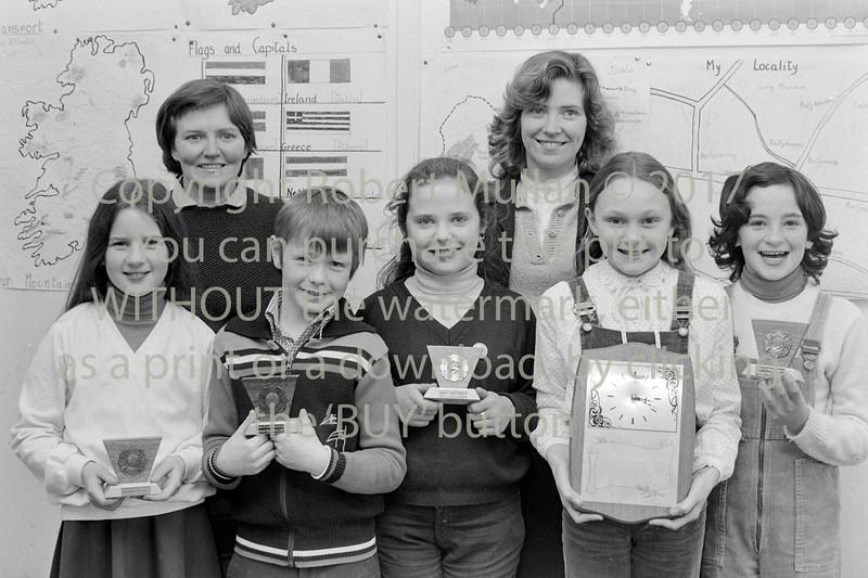 School prizewinners - 1980s/90s