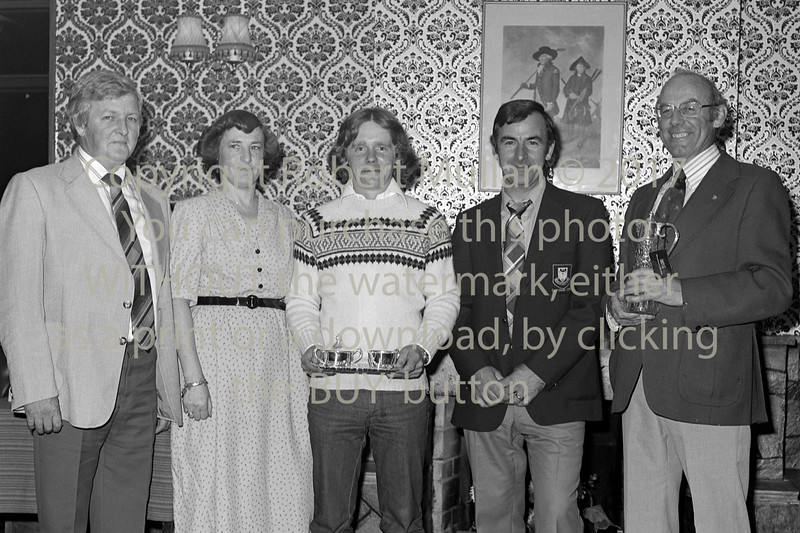 Wicklow Golf Club presentation.  Circa 1980