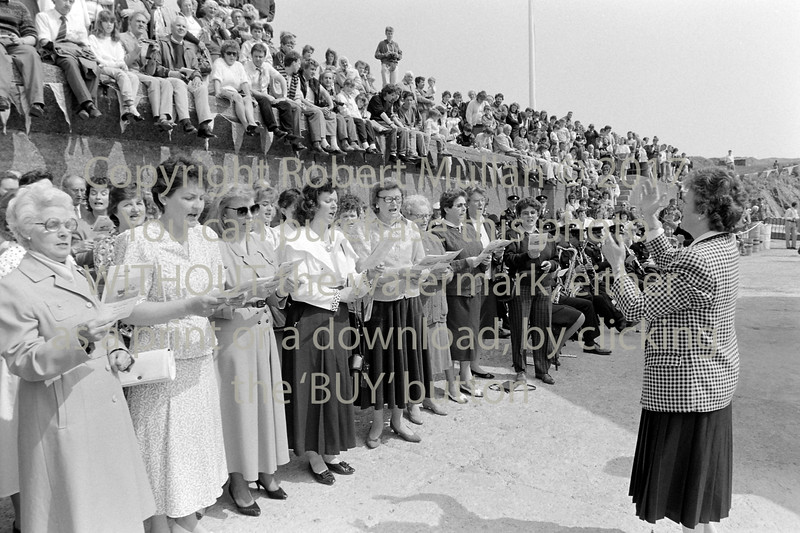 Ladies Choir at Wicklow RNLI event - 1980s/90s