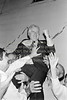 Joe Jacob with supporters after his election.   Date unknown