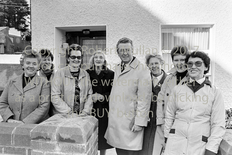Liam Kavanagh met the Wicklow ladies while canvassing in Wicklow - 1980s/90s