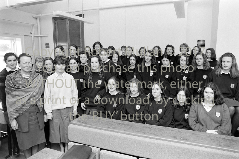 A group from the Dominican College, Wicklow - 1980s/90s