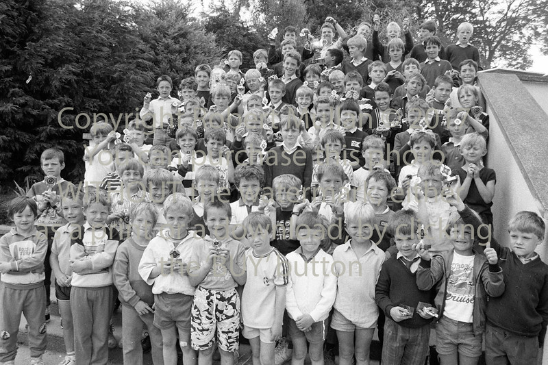 Wicklow primary school group - 1980s/90s