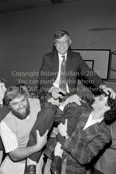 Michael Lawlor at an election count in Wicklow - 1980s/90s