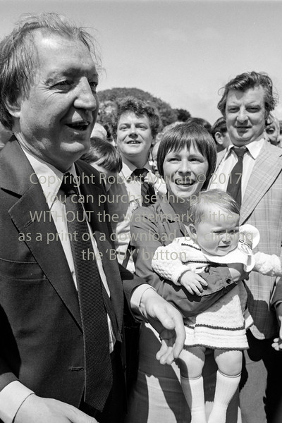 CJ Haughey meeting and greeting in Wicklow.  Date unknown