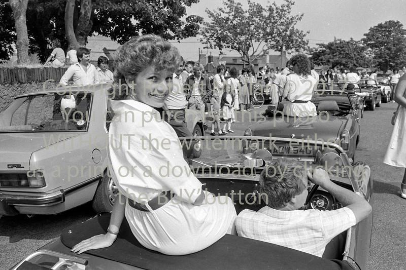 At Wicklow Regatta Parade.  Circa 1993