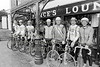 Cyclists pictured at Rathdrum - 1980s/90s