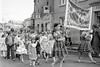 St Patrick's Day Parade.  Circa 1980