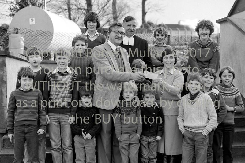 Presentation at St Patrick's NS Wicklow.  Circa 1980s